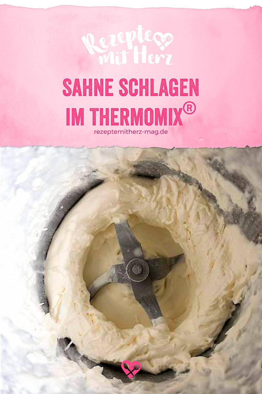 Anleitung Sahne schlagen im Thermomix®