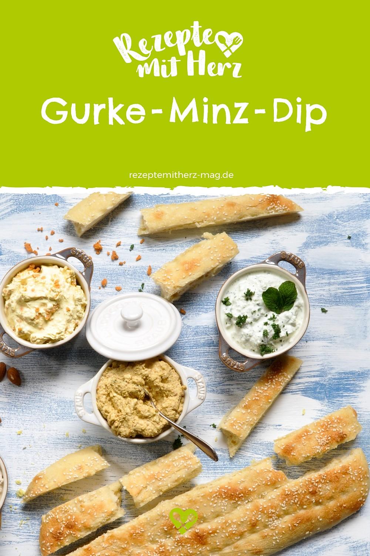 Gurke-Minz-Dip aus dem Thermomix